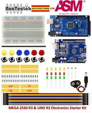 Starter Kit MEGA 2560 UNO R3 for Arduino MINI Breadboard LED Jumper Wire Button