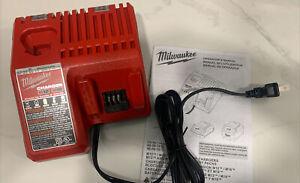 GENUINE New Milwaukee M12 M18 18V Battery CHARGER 48-59-1812 12 18 Volt OEM