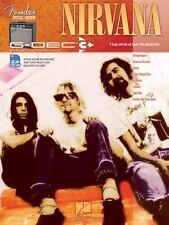 Fender G-Dec 3 Play Along Book Nirvana BOOK & SD Card NEW! PRIORITY SHIPPING!