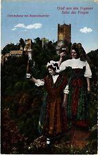 CPA   Gruss aus Vogesen Salut des Vosges -Ulrichsburg bei Rappoltsweiler(452157)