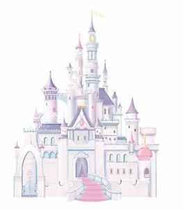 RoomMates Disney Princess Castle Wall Stickers