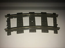 LEGO TRAIN 9V OLD TRACKS PIECES 500 x CURVED TRACKS - TRACK FOR LEGO
