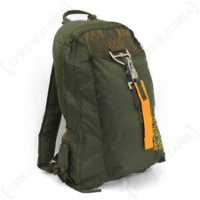 Olive Green Para Backpack - USAF Airforce Paratrooper Rucksack Bag Army New