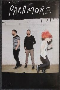 Paramore Self-Titled 2013 DOUBLE-SIDED PROMO POSTER
