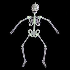 32-150CM Crâne Squelette Lumineux Effrayant Suspendu Décoration Halloween Fête