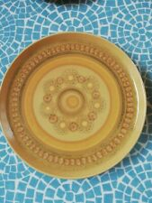 More details for x 6 vintage retro sixties seventies franciscan - honeycomb - dinner plates x 6