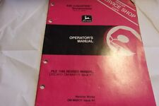 John Deere 440 LIQUIFIRE Snowmobile Operator's Manual (serial no. 190,001- )