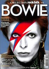 David Bowie French Rock & Folk Magazine France Tribute Mag 162 Pages Nov 2018