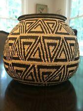 Gorgeous Vintage Hand woven Basket