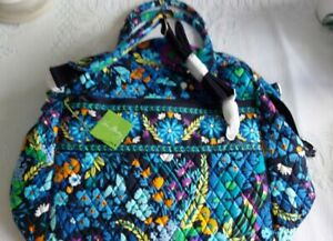 NWT Vera Bradley Overnight Travel Bag Midnight Blues Extra Large  Never Used