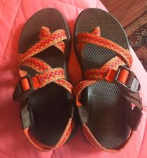 Chaco Womens 6 Z2 Yampa Sandal Toe Strap Orange Brown Pink