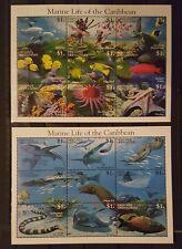 F118.Briefmarken Fische 1995 Grenada Grenadines 2Kb.,postfrisch