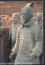 China Postcard - Terracotta Army - Pottery Figure After Restoration    BH6222