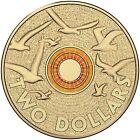 2015 Australia Remembrance Day RAM Orange $2 Uncirculated Coin