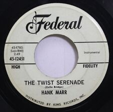 Hear! Northern Soul Instr. Promo 45 Hank Marr - The Twist Serenade / Your Magic