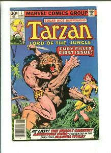 """TARZAN #1 - FURY FILLED 1ST ISSUE """"The Fisherman Collection"""" (6.0) 1977"""