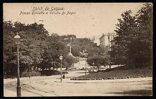 AX0231 Genova - Città - Piazza Corvetto e Villetta di Negro - Old postcard
