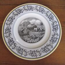 """Villeroy and Boch Country Collection Audun Ferme 10.5"""" Dinner Plate"""