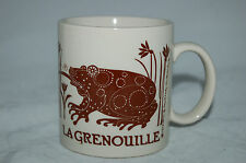 Vintage Taylor & Ng 'La Grenouille' Frog Coffee/Tea Mug 1978 Made In Japan