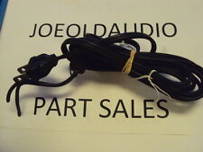 Pioneer Sx-750 Original Ac Line Cord w/ Strain Relief. Parting Out Sx-750.