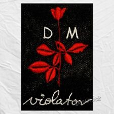 Depeche Mode Violator Logo Embroidered Patch Rock Vince Clarke Andrew Fletcher