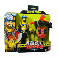 Fisher-Price Rescue Heroes Forrest Fuego 6-Inch Figure with Accessories New