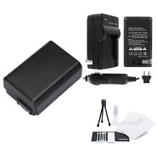 NP-FW50 Battery + Charger + BONUS for Sony Alpha SLT-A33 A37 A55 A5000 DSC-RX10
