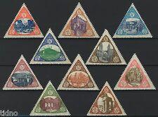 Sicilia Calabria Messina 1908 earthquake charity, German bicoloure issue MNH