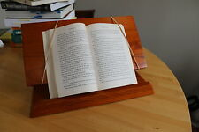 Book Stand - Solid Wood Book Holder Portable for any Book Size & Weight
