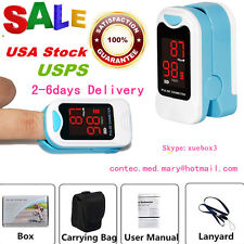 Finger Tip Pulse Oximeter SpO2 and PR value waveform Blood Oxygen Oxymeter,USA