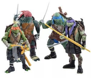 TMNT Teenage Mutant Ninja Turtles Action Figures 4 Piece set