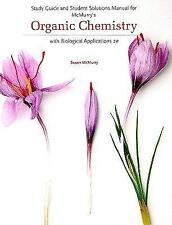 Study Guide & Student Solutions Manual for McMurry's Organic Chemistry 2nd Ed.