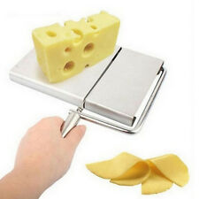 Cheese Slicer Cutter Board Stainless Steel Wire Cutting Kitchen Hand Tool ESUS