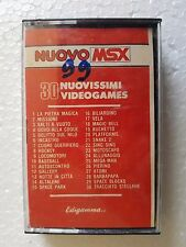 Msx NEW msx 30 games with Movie Edigamma