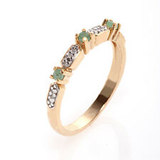 Delicate Emerald  Ring ~ Size 7