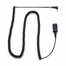 Plantronics 2.5mm to QD Coiled Cord for Cisco 921 922 941 942 962 303 504 508 IP