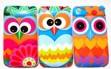 wholesale 3pcs Super Cute Lovely Owl Fits iphone3G 3GS case Hard Cover Skin O-2