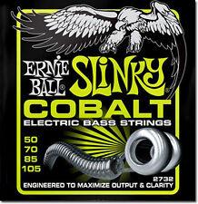 Ernie Ball 2732 Cobalt Regular Slinky Bass Guitar Strings 50-105