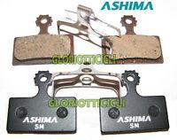 ASHIMA SET 4 PASTIGLIE FRENO PER SHIMANO XTR BR-M985 SEMI/METALLICHE