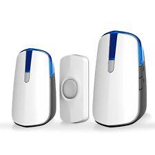 AcePoint Night Light Wireless Doorbell Series, 2-in-1 Wireless Door bell w/ LED