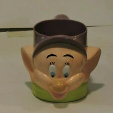 Walt Disney Snow White 7 Dwarves Dopey Face Mug: Ringling Bros Barnum Bailey