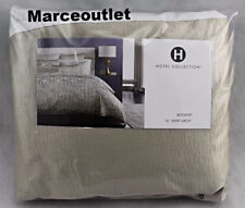 Hotel Collection Fresco KING Bedskirt Soft Gold