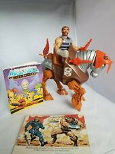 Stridor and Fisto Vintage He-Man MOTU + back card and comic