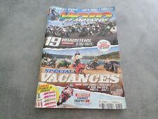 MOTO et MOTARD 180 REVUE juillet aout 2014 MAGAZINE, SPECIAL VACANCES