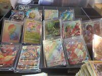 Pokemon Card Lot 100 OFFICIAL TCG Cards 2 Ultra Rare GX/EX/MEGA/full Art + HOLOS