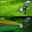 4-LED Solar Power Garden Lamp Spot Light Outdoor Lawn Landscape Path Spotlight