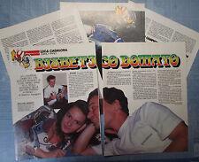 MOTOSPRINT991-RITAGLIO/CLIPPING/NEWS-1991- CADALORA LUCA (Primo piano) -5 fogli