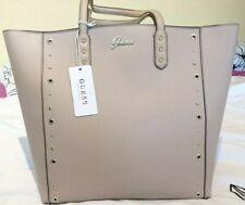 Guess Leticia Tote Bag Stone and Gold Bnwt Shoulder Handbag