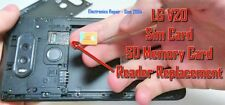 LG V20 Sim Card Card Reader Holder Tray Replacement Service - Free Shipping