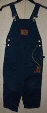 """EXCELLENT BOYS SCOOBY-DOO """"XTREME MOUNTAIN CLIMBING"""" DARK BLUE OVERALLS  SIZE 6"""